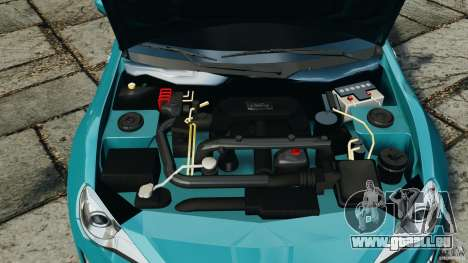 Scion FR-S für GTA 4 obere Ansicht