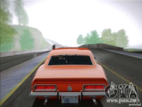 Chevrolet Camaro SS 1967 pour GTA San Andreas vue de droite