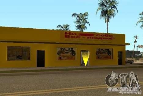 Neue Texturen der Häuser an der Grove Street für GTA San Andreas sechsten Screenshot