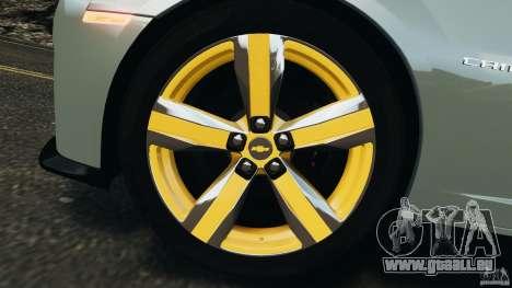 Chevrolet Camaro ZL1 2012 v1.2 pour GTA 4 est une vue de dessous
