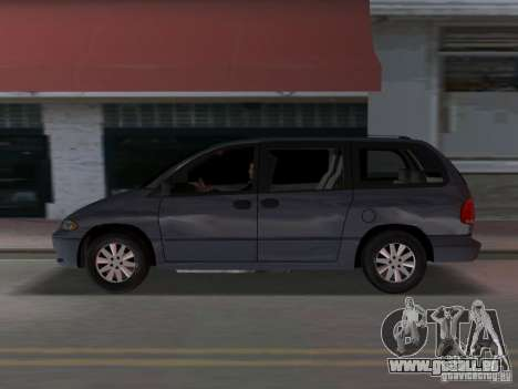 Dodge Grand Caravan für GTA Vice City linke Ansicht