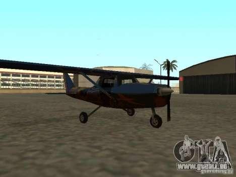 Ein neues Flugzeug-Dodo für GTA San Andreas rechten Ansicht