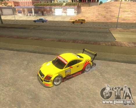 Audi TTR DTM racing car pour GTA San Andreas