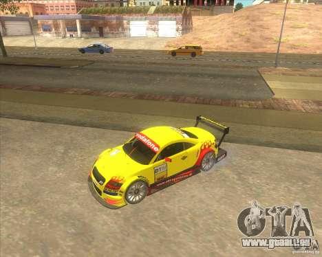 Audi TTR DTM racing car pour GTA San Andreas