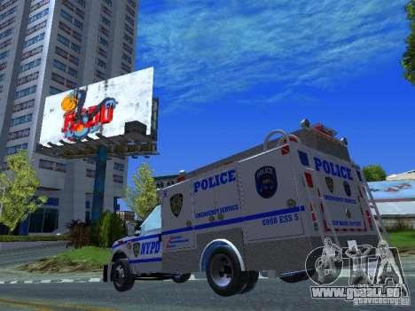 Ford F350 REP Truck für GTA San Andreas Innenansicht