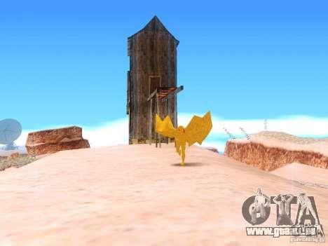 The Mothman pour GTA San Andreas troisième écran