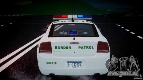 Dodge Charger US Border Patrol CHGR-V2.1M [ELS] pour le moteur de GTA 4