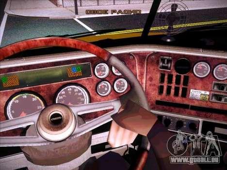 Freightliner Century Classic für GTA San Andreas obere Ansicht
