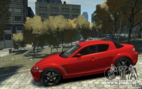 Mazda RX-8 (2006) für GTA 4 linke Ansicht