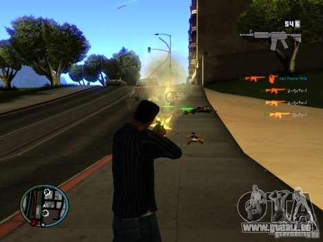 KILL LOG pour GTA San Andreas troisième écran