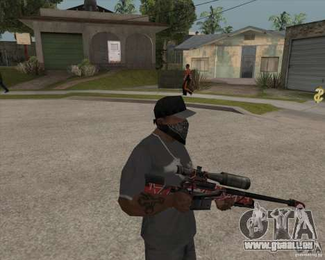 Accuracy International L96A1 pour GTA San Andreas