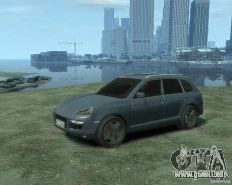 PORSCHE Cayenne turbo S 2009 pour GTA 4
