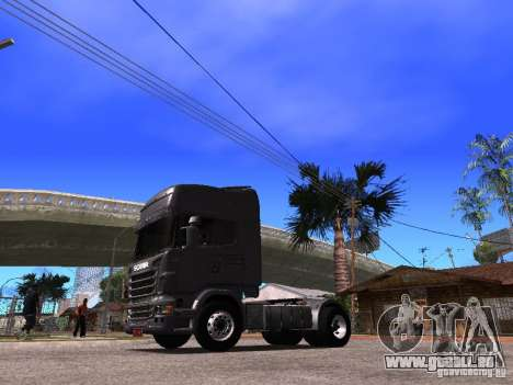 Scania R-440 für GTA San Andreas zurück linke Ansicht