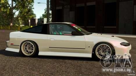 Nissan 240SX facelift Silvia S15 [RIV] pour GTA 4 est une gauche