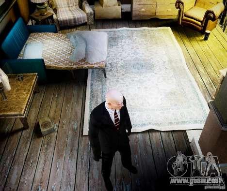 Hitman Blood Money Skin für GTA 4 fünften Screenshot