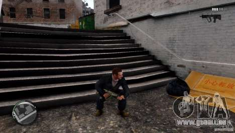 Tavor TAR-21 für GTA 4 dritte Screenshot