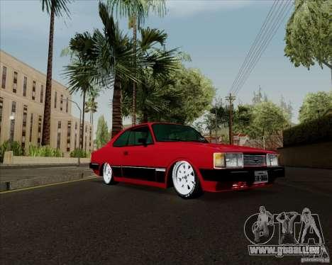 Chevrolet Opala Diplomata 1986 pour GTA San Andreas sur la vue arrière gauche