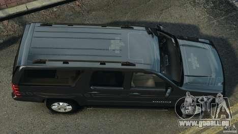 Chevrolet Suburban GMT900 2008 v1.0 pour GTA 4 est un droit