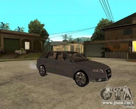 Audi A4 2005 Avant 3.2 quattro pour GTA San Andreas vue de droite