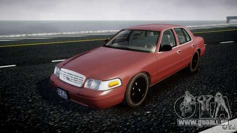 Ford Crown Victoria 2003 v.2 Civil pour GTA 4
