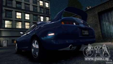 Toyota Supra RZ 1998 pour GTA 4 Vue arrière