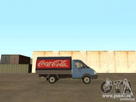 3302 Gazelle v. 2.0 für GTA San Andreas zurück linke Ansicht