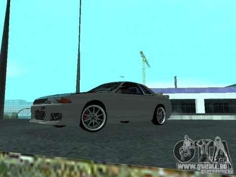 Nissan Skyline R32 Tuned für GTA San Andreas linke Ansicht