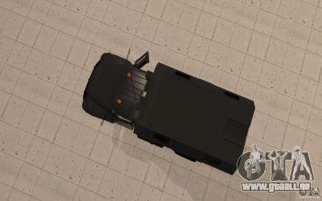 ZIL 130 Radio Butka für GTA San Andreas Rückansicht