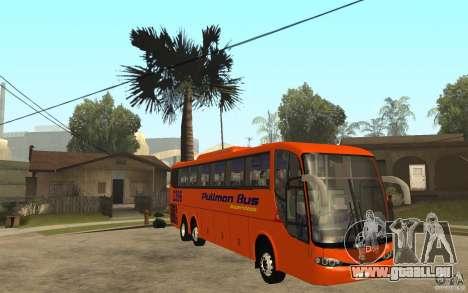 Marcopolo Paradiso 1200 Pullman Bus für GTA San Andreas Rückansicht