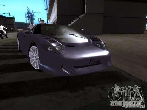 B Engineering Edonis pour GTA San Andreas laissé vue