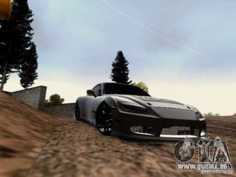 Mazda RX7 Tuning pour GTA San Andreas laissé vue