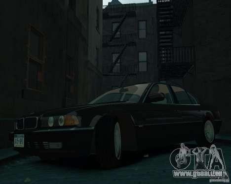 BMW 750i E38 1998 für GTA 4