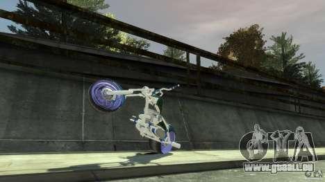 HellFire Chopper pour GTA 4 est une vue de l'intérieur