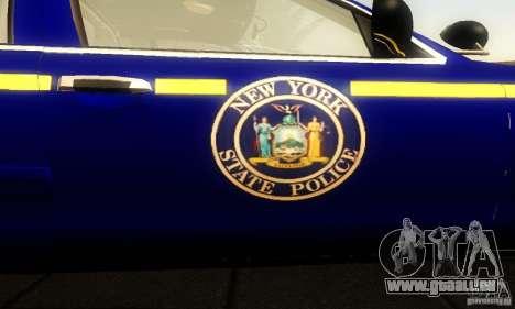 Ford Crown Victoria New York Police für GTA San Andreas Rückansicht