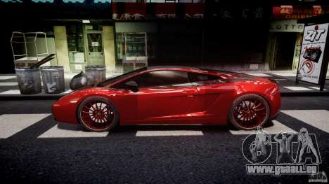 Lamborghini Gallardo Superleggera 2007 (Beta) für GTA 4 linke Ansicht