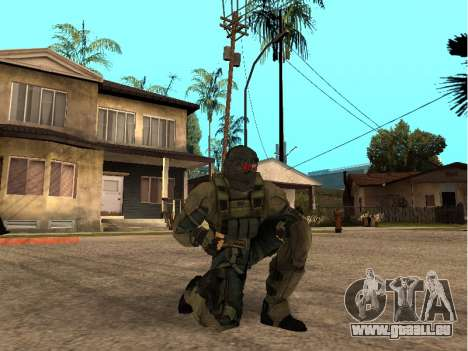 Der Haut-Armee-Ingenieur für GTA San Andreas her Screenshot