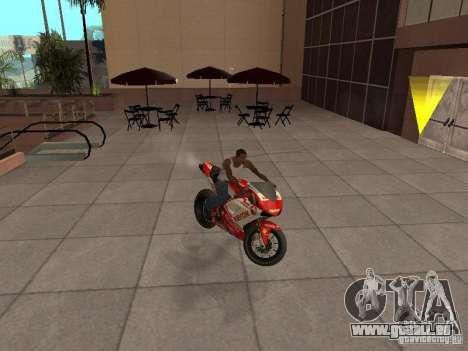 Ducati 1198R für GTA San Andreas rechten Ansicht