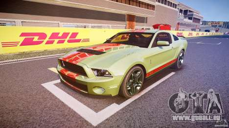 Ford Mustang Shelby GT500 2010 (Final) für GTA 4