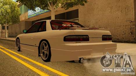 Nissan Silvia S13 MyGame Drift Team für GTA San Andreas zurück linke Ansicht