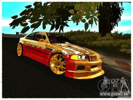 BMW M3 Calibri-Ace pour GTA San Andreas