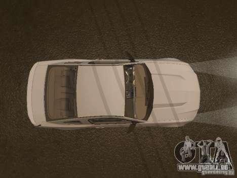 Ford Mustang 2011 GT pour GTA San Andreas vue de dessous