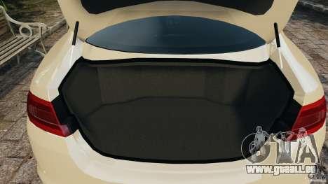 Jaguar XFR 2010 v2.0 für GTA 4 Unteransicht