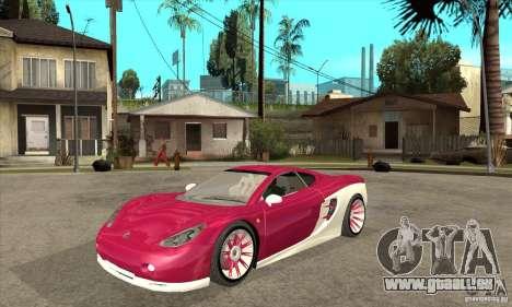 Ascari KZ-1 für GTA San Andreas