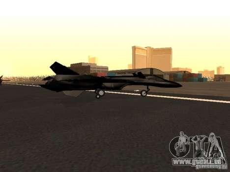 Y-f19 macross fighter für GTA San Andreas linke Ansicht