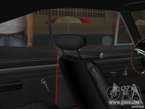 Dodge Charger 426 R/T 1968 v2.0 für GTA Vice City Seitenansicht
