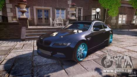 BMW E92 für GTA 4-Motor