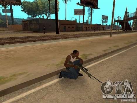 M40A3 für GTA San Andreas her Screenshot