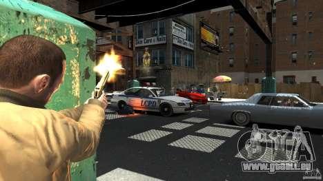 Gold Desert Eagle für GTA 4 Sekunden Bildschirm