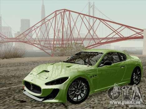 Maserati GranTurismo MC 2009 pour GTA San Andreas