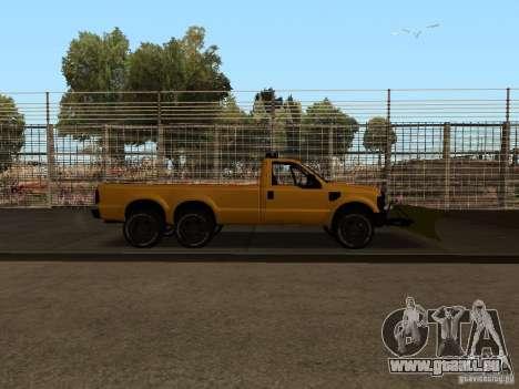 Ford Super Duty F-series pour GTA San Andreas vue de droite